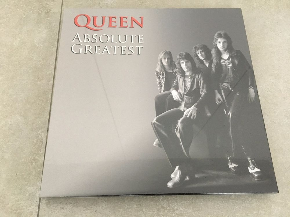 Queen Absolute greatest UK triple vinyl box set - very rare - sealed
