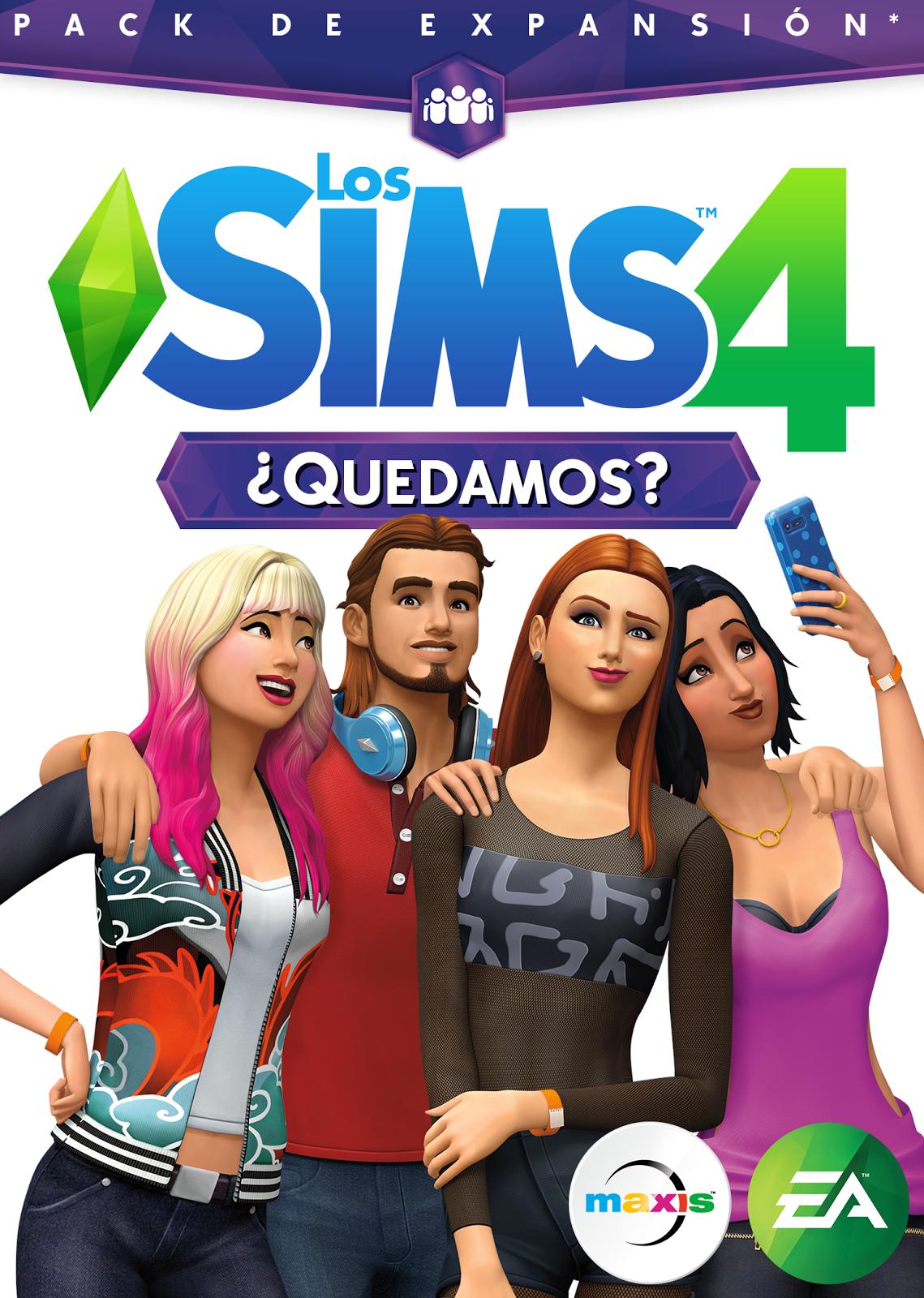 Los Sims 4 Quedamos Pack De Expansión Sims 4 Sims 4 Expansiones Sims