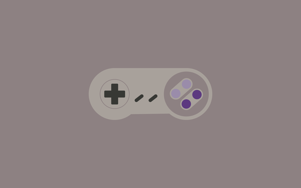 Snes By Aaron Dunham In 2019 Minimalist Wallpaper Laptop