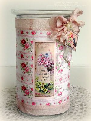 Creating from the Heart: ♥ Decoupage on Glass ♥ {Crafty Secrets Style!}