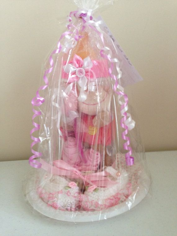 Baby Girl Baby Bottle First Bank Gift Set by BabysPreciousGifts ...