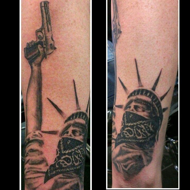 a48ddaaed7c Gangster statue of liberty tattoo | Tattoos