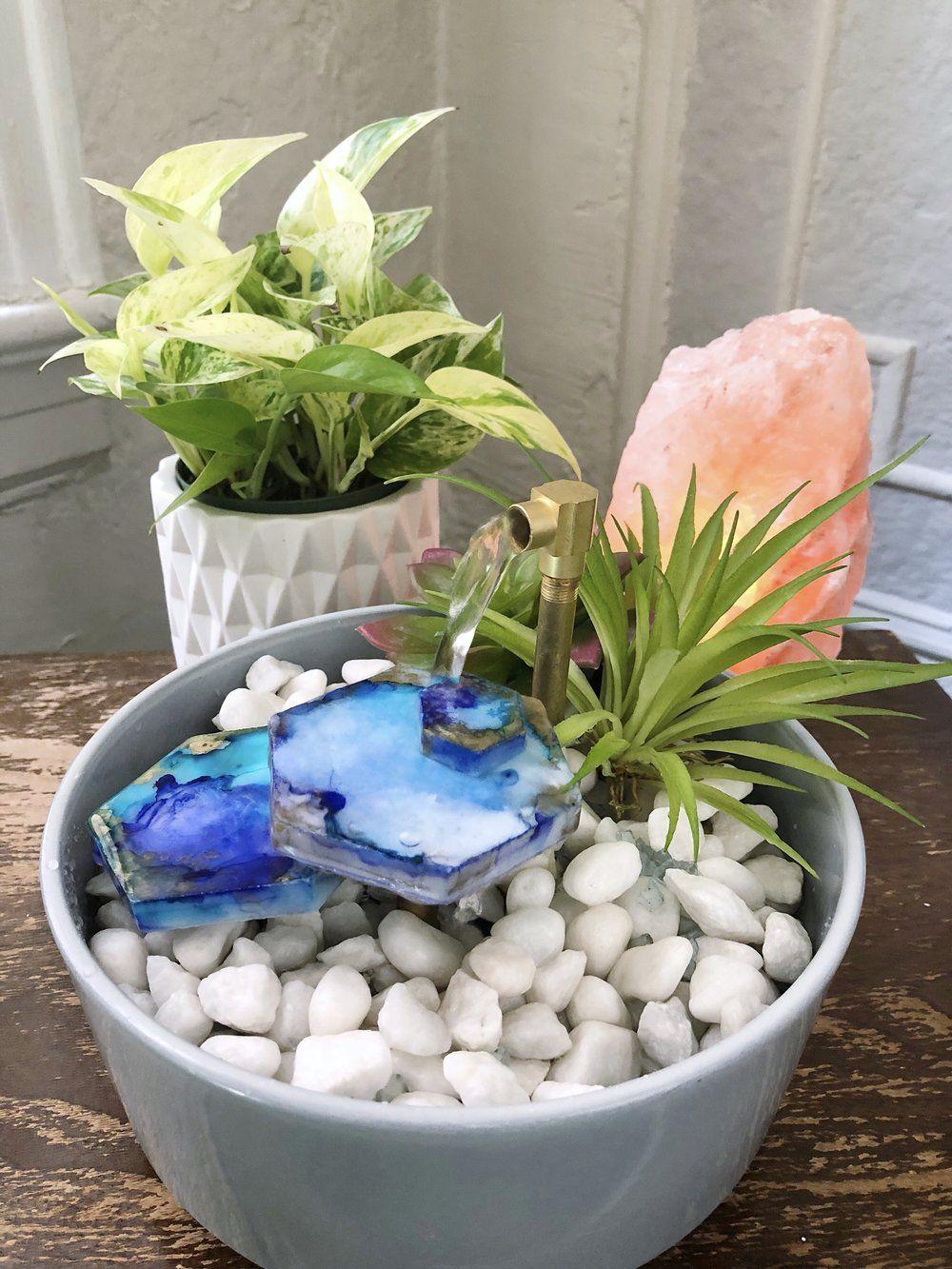 Relaxing Diy Tabletop Fountain Diy Fountain Tabletop Fountain Indoor Water Garden