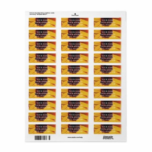 Sunflower address label template Address label template - address label template
