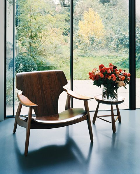 His Diz Armchair Looking Stunning In A Modernist Interior