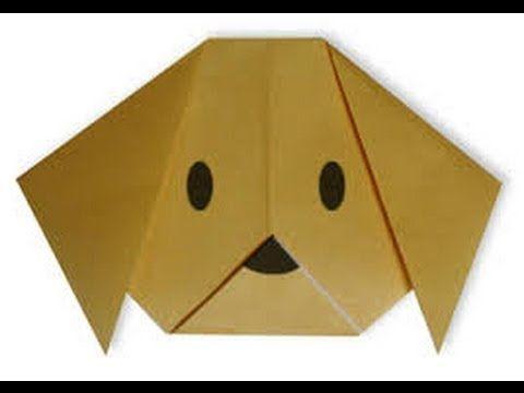 origami un perro