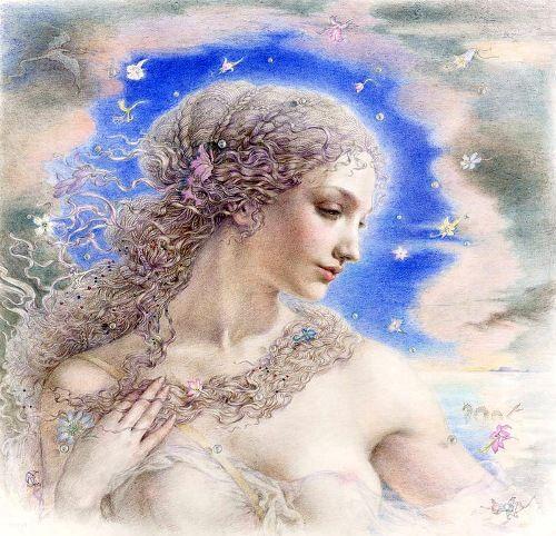 Aphrodite by Kinuko Y. Craft