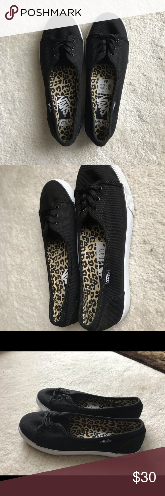 a02adbbd509a Black white vans ladies shoes for sale brand new never worn tag png  580x1740 Vans ladies