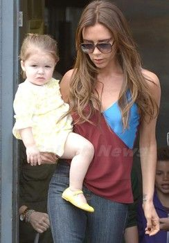 Victoria Beckham wearing a Jonathan Saunders top when on holidays in LA.