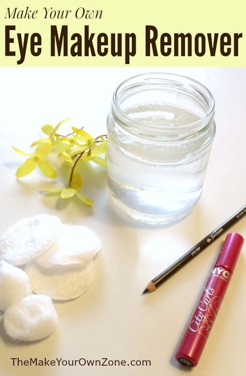 Photo of Make Your Own Eye Makeup Remover