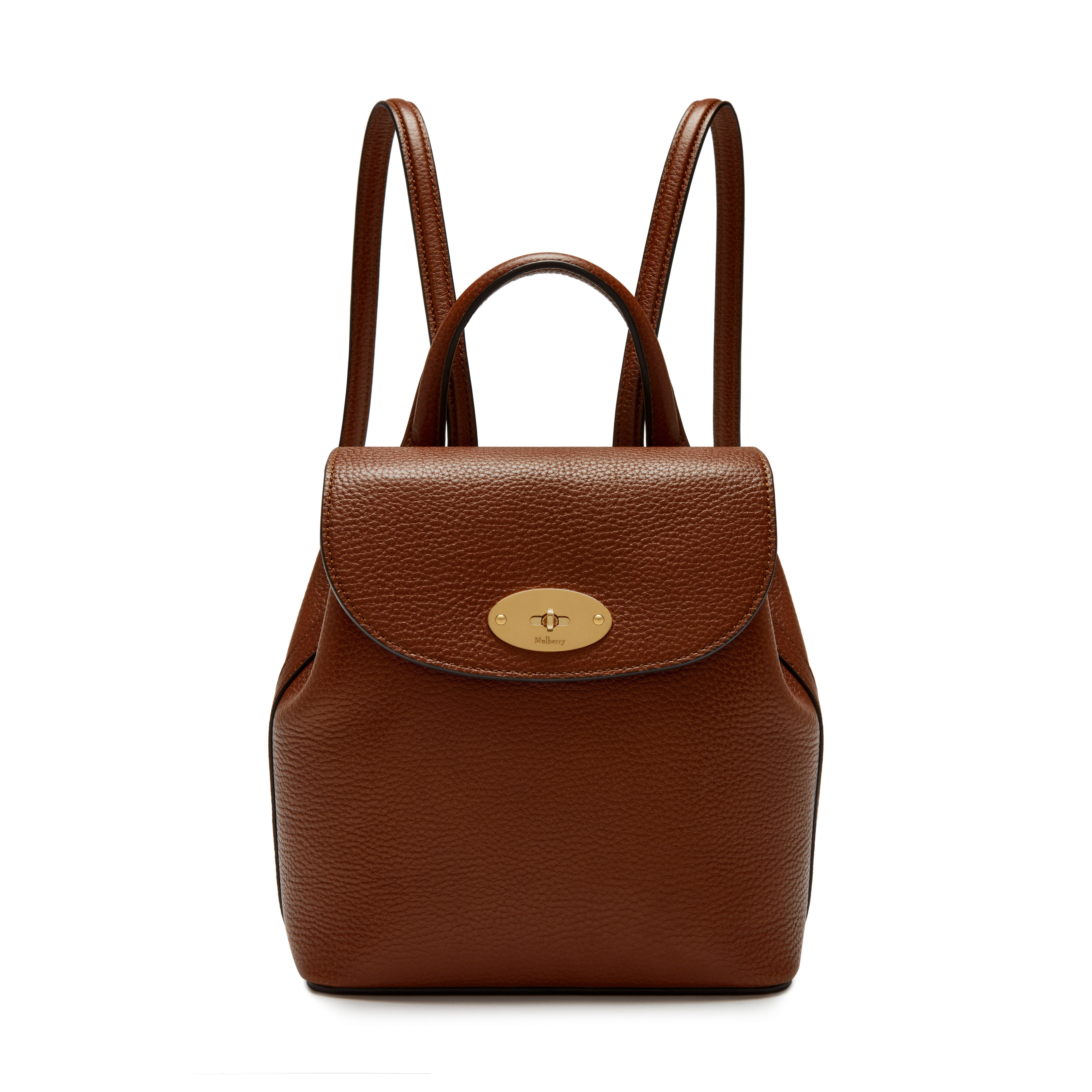 60e86b4e4a Shop the Oak leather Mini Bayswater Backpack on Mulberry.com. Hands-free  and ready to go - on a miniature scale. This new Mini version of the  practical ...