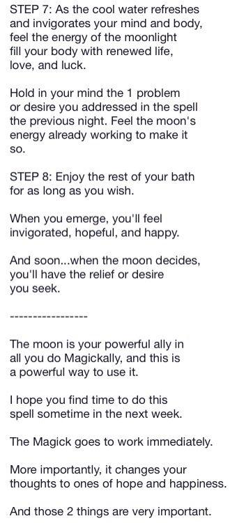 Morning Moon Light Magic Spell 3