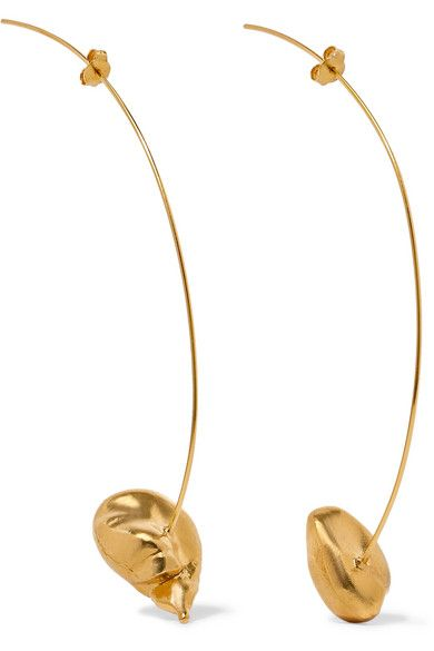 Moment Of Clarity Gold-plated Earrings - one size ALIGHIERI Ex6lF