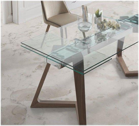 Resultado de imagen de mesa cristal 80 cm comedor | Hogar | Pinterest