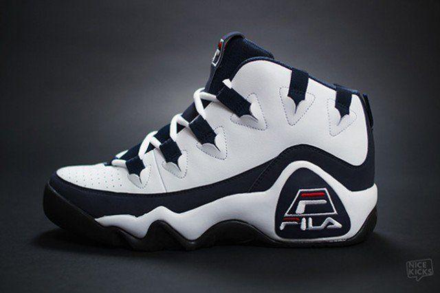 FILA Grant Hill 1995 Sneaker Scheduled For Retro Re Release