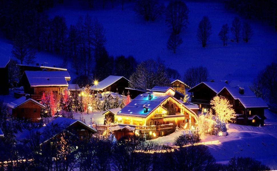 Christmas night HD Wallpaper | Wallpapers | Pinterest | Weihnachten ...