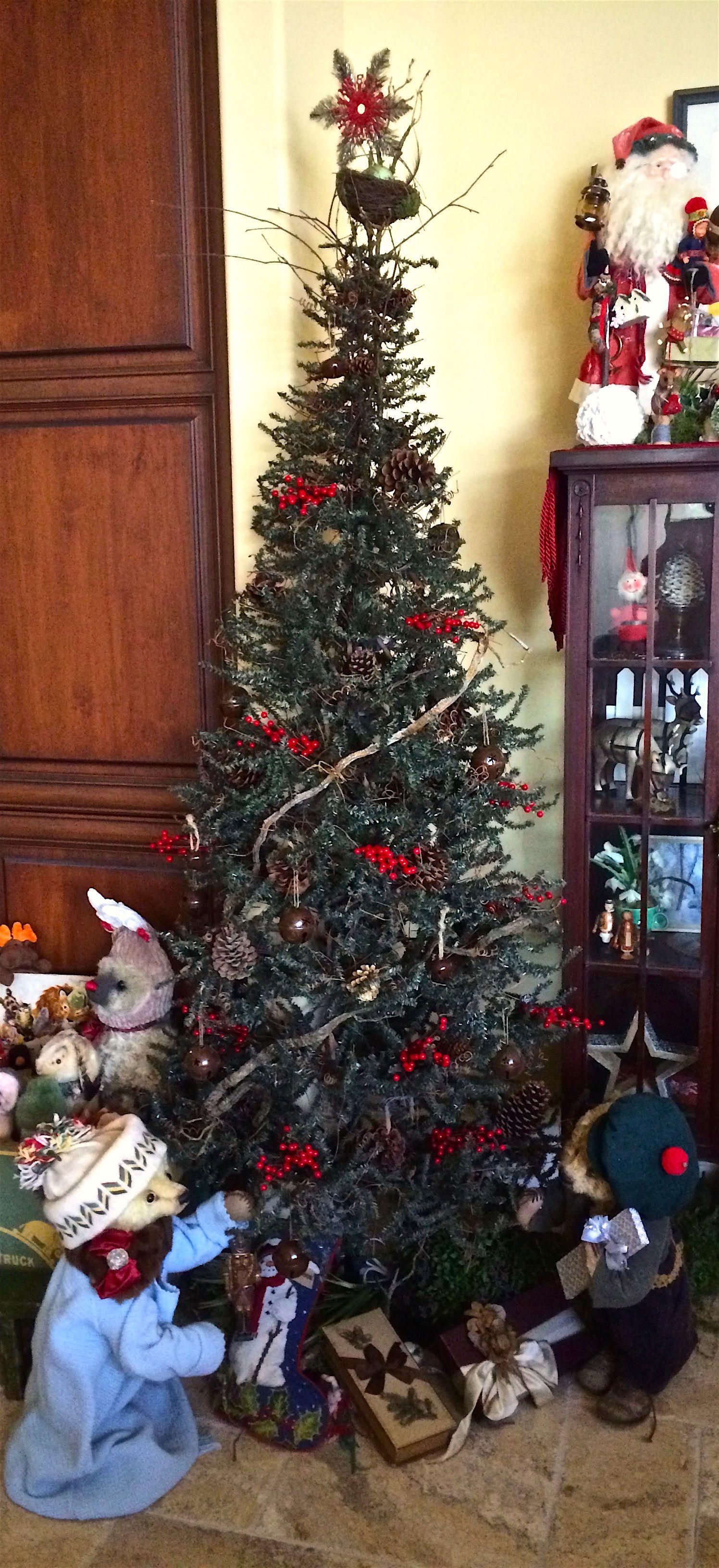 Berries Bark Pinecones and Jingle Bells  Katy Silb