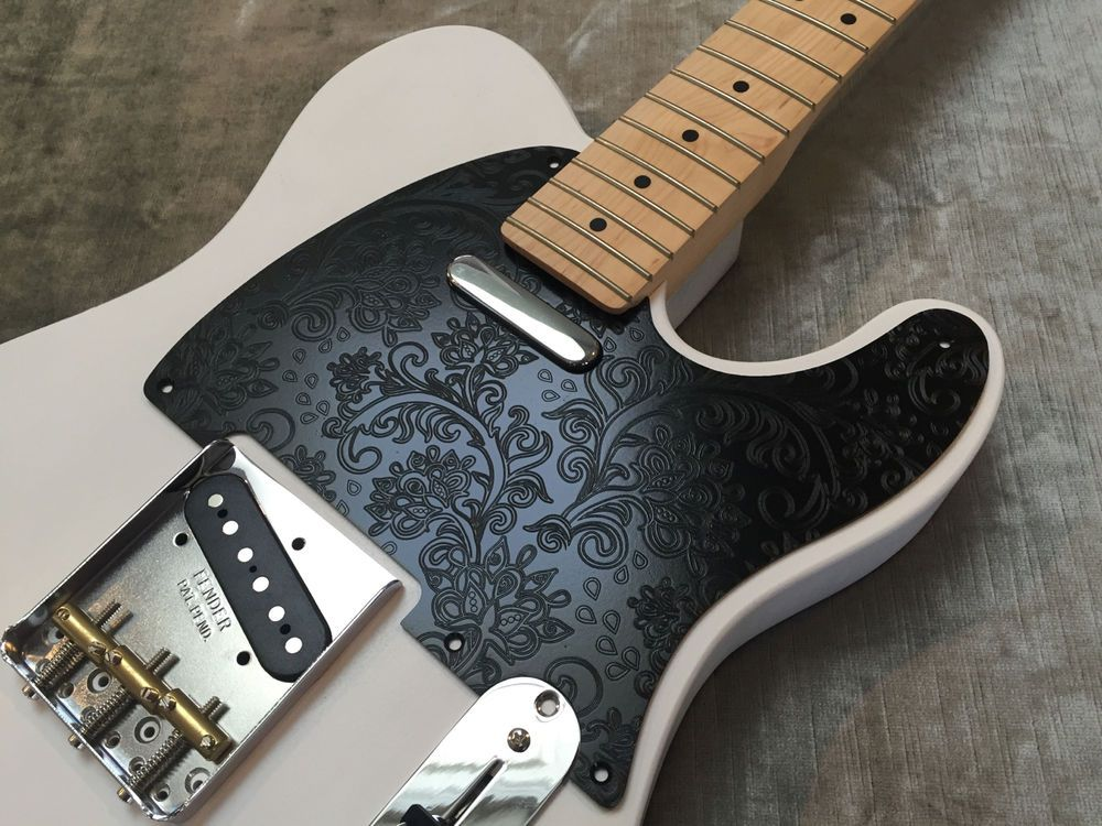NEW Vintage Black Paisley PICKGUARD for Fender Telecaster Tele PG-0560-042