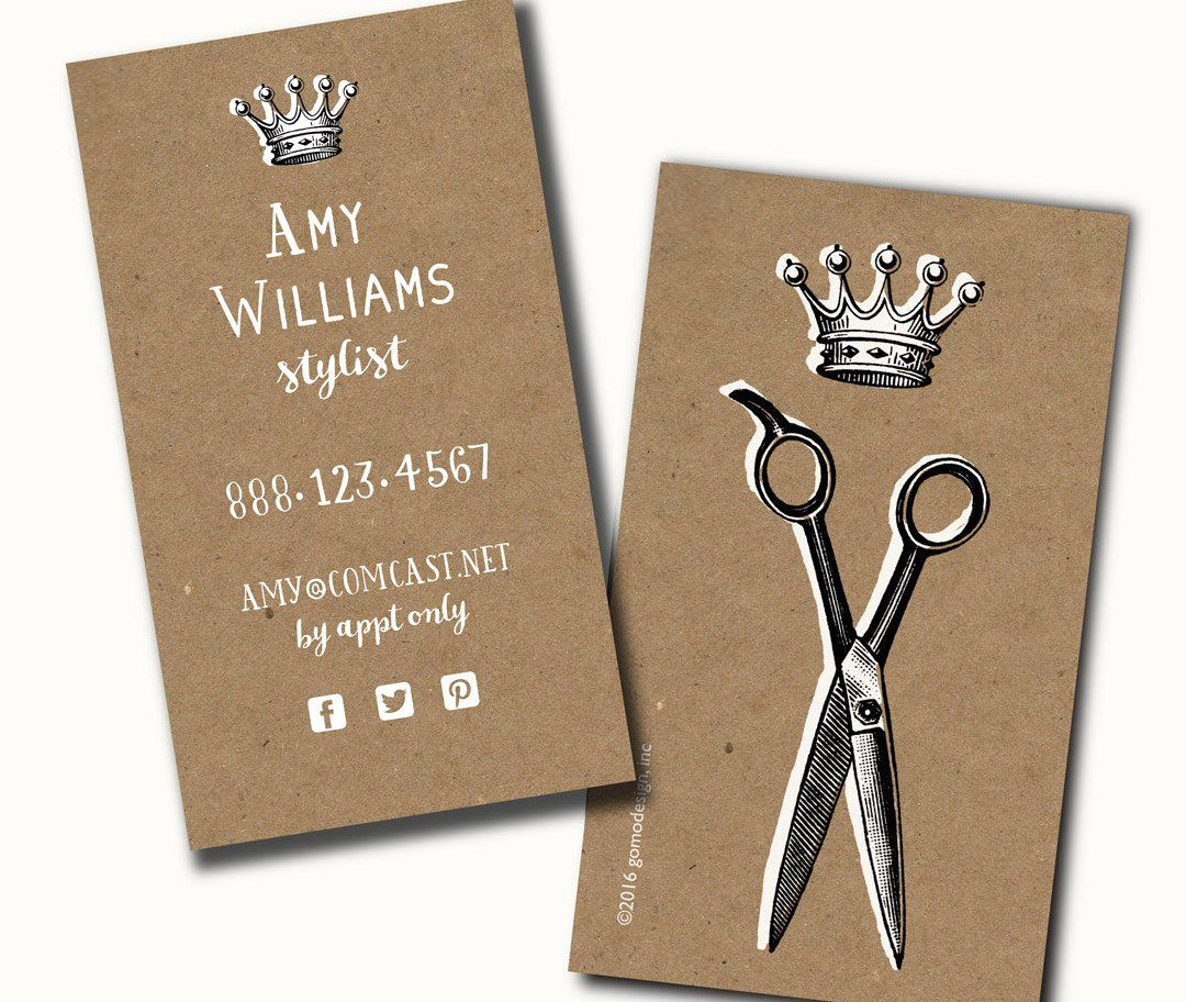 40 hair salons business cards in 2020 salon business