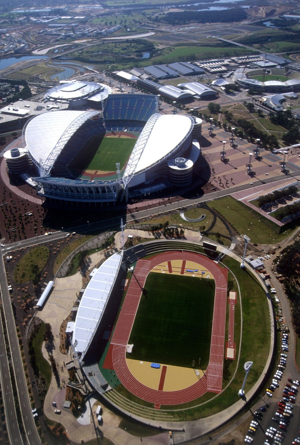 Sydney Olympic Park At Homebush NSW