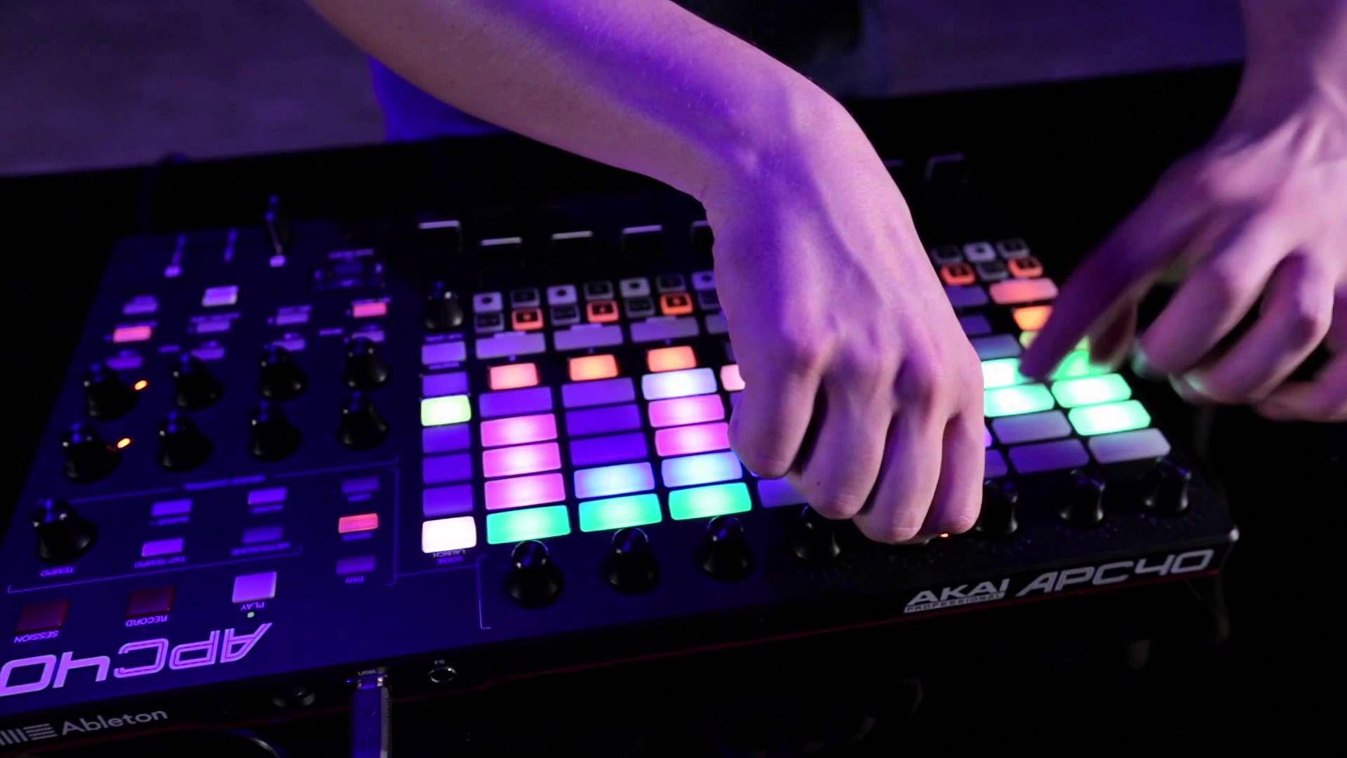 Akai Pro APC40 mkII Performance featuring Carl Rag #Akai #APC40