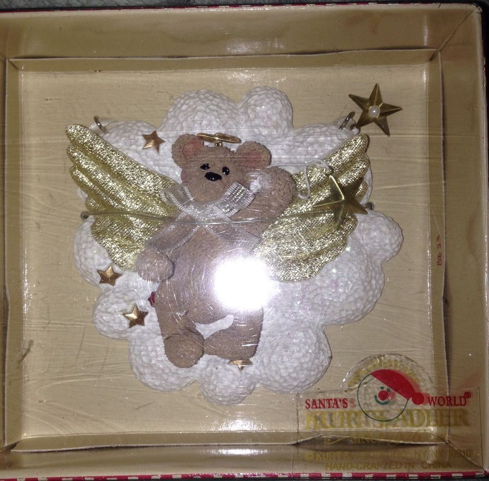 Angel From Holly's World details about vtg kurt s adler holly bearies christmas bear