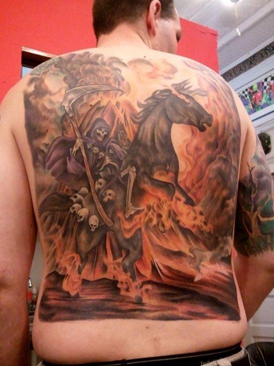807aaeb99 29 Cool Grim Reaper Tattoo Designs | Tattoos | Reaper tattoo, Grim ...