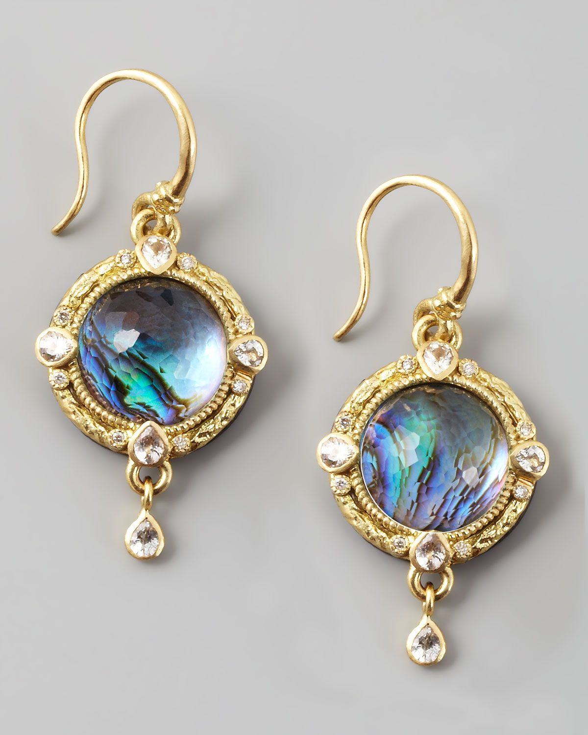15 Examples Of Beautiful Earrings For Girls | Round earrings ...