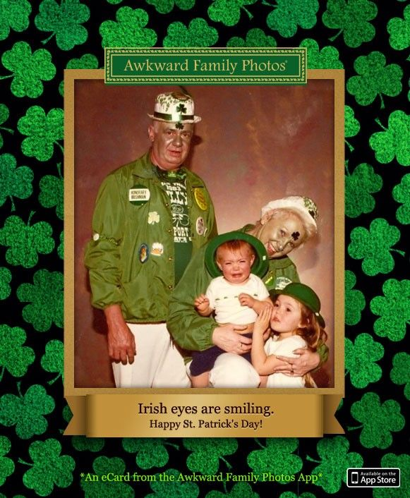 Send family  friends more exclusive St. Patricks Day eCards from the AFP App!