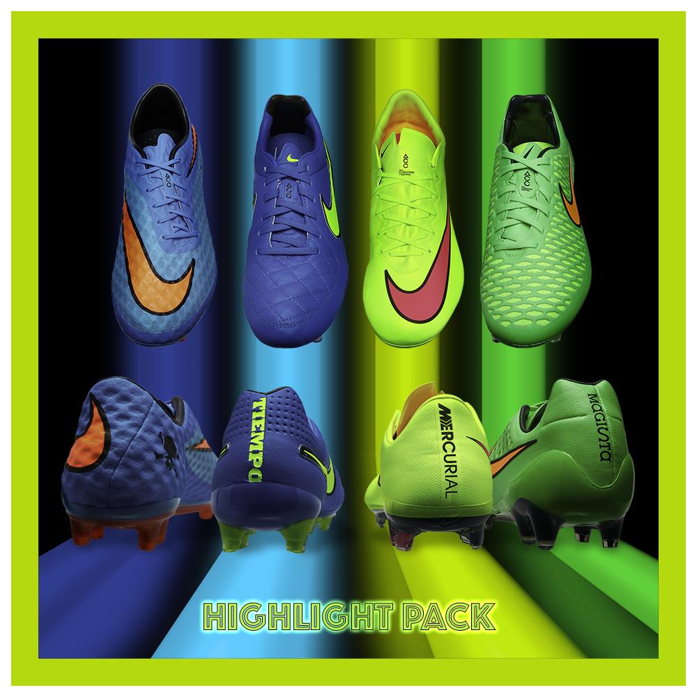 los angeles 33deb 471cd Nike Highlight Pack! #hypervenom #tiempo #mercurial #magista ...