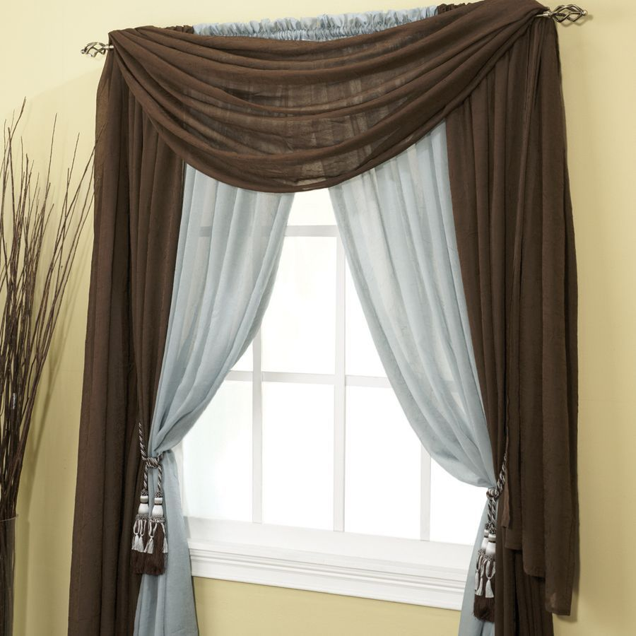 Lichtenberg And Co Tyler Crushed Voile Sheer Panel