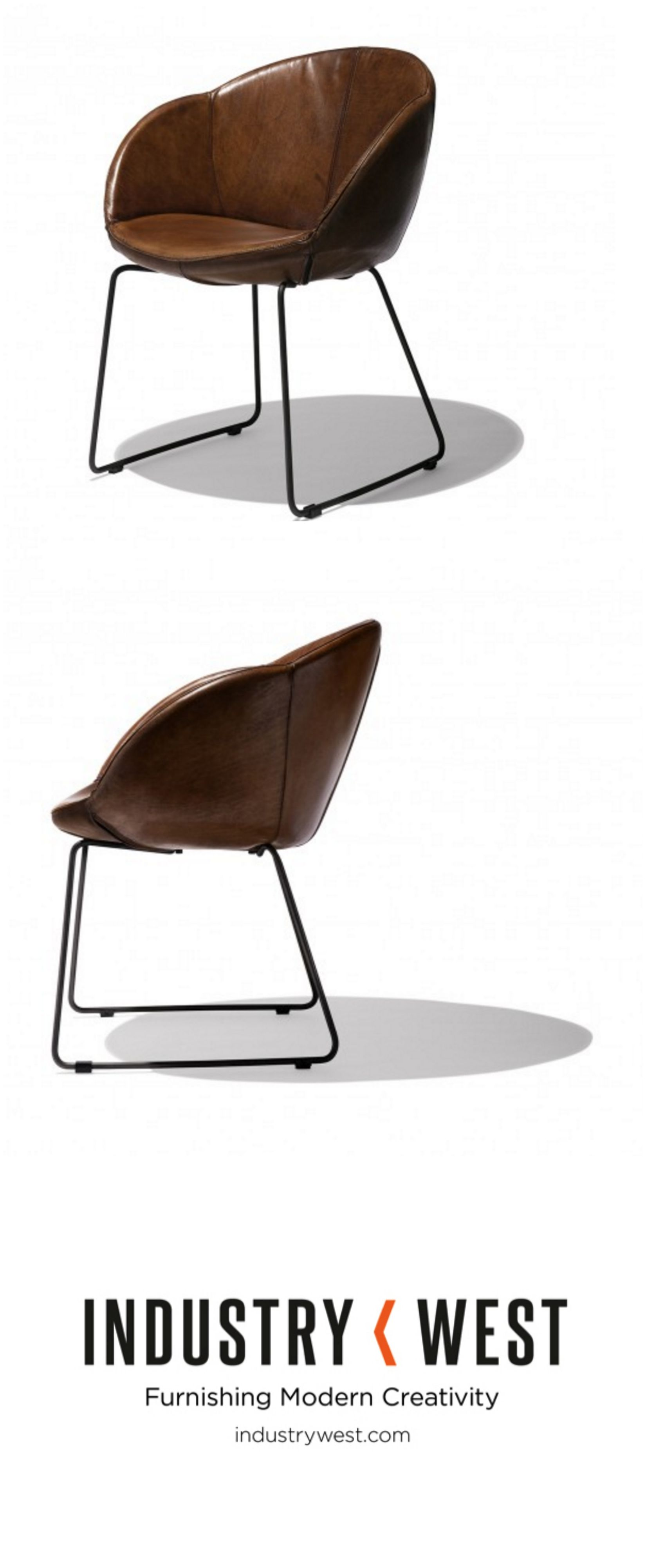 The Merino Chair Is Crafted From Exquisite, Genuine, Buffalo Leather. The Buffalo  Leather