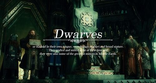 Races of Middle-earth: Dwarves