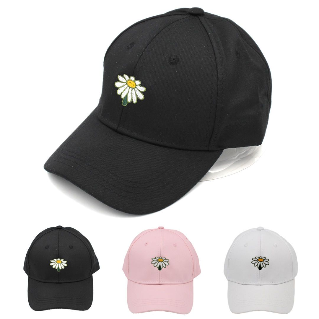 New Men Embroidery Cap Adjustable Fashion Dad Hat Unconstructed Baseball Cap