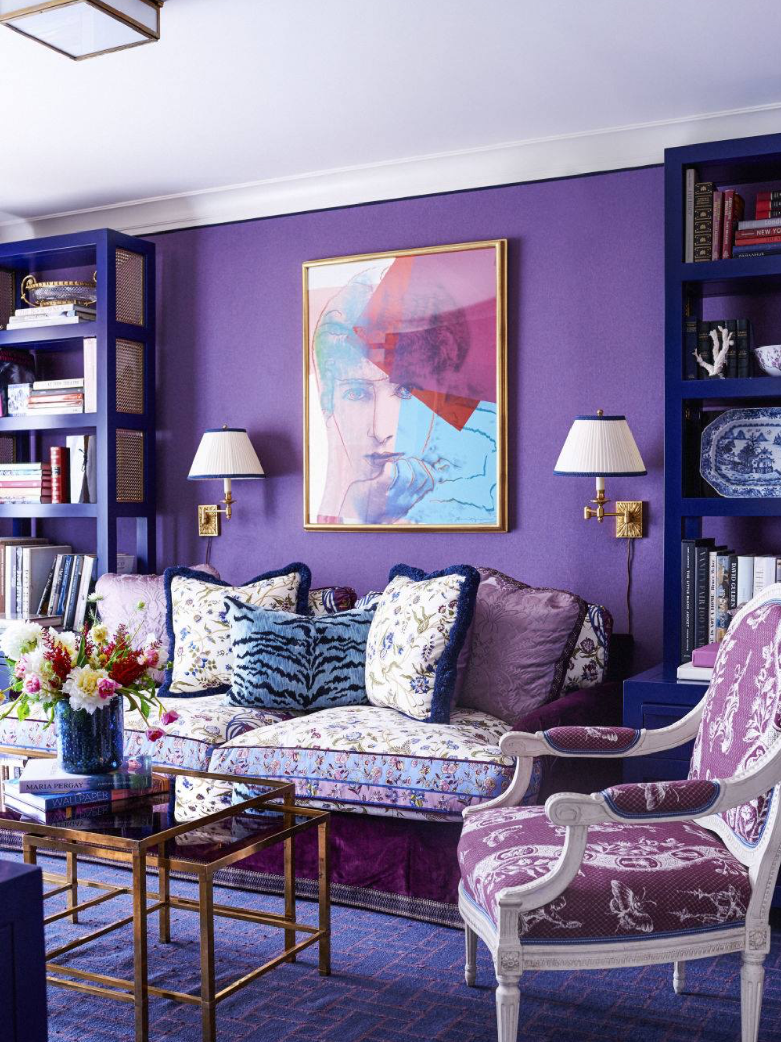 Bon 15 Purple Rooms Characterized By Cheerful, Vibrant Color