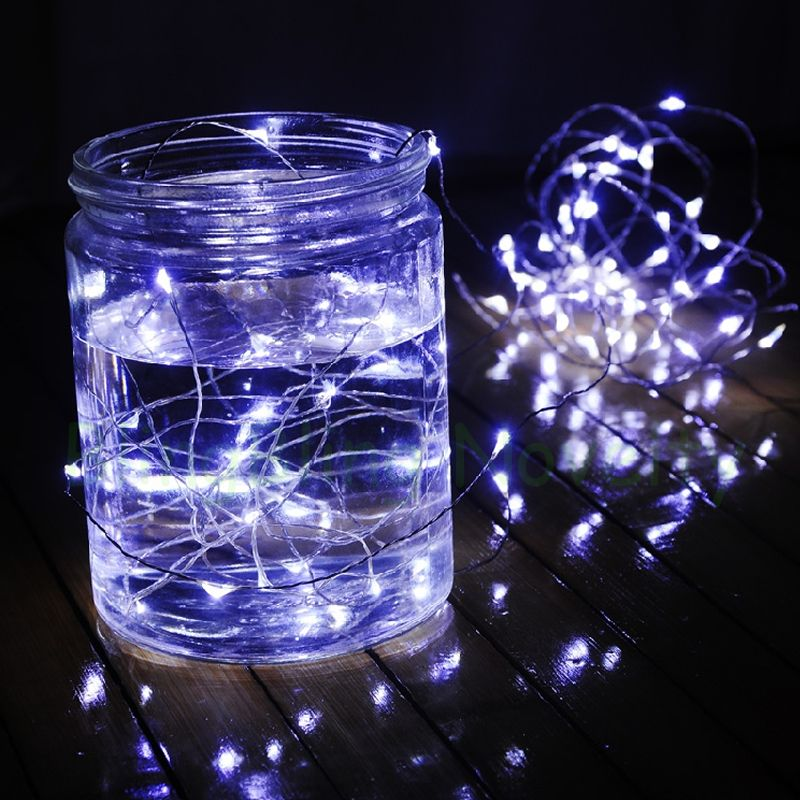 3 meters 30 leds battery operated white lights fairy led string ...
