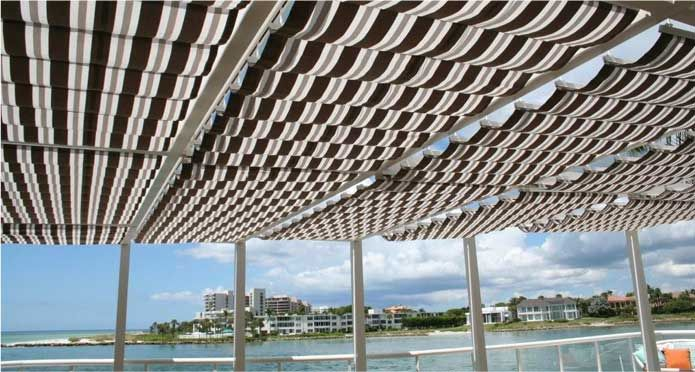 Awnings Sarasota U2013 WINDSHUTTERS™ U2013 Retractable Awnings Sarasota, Solar  Protection | Jennifer U0026 Peter | Pinterest | Retractable Awning And Living  Spaces