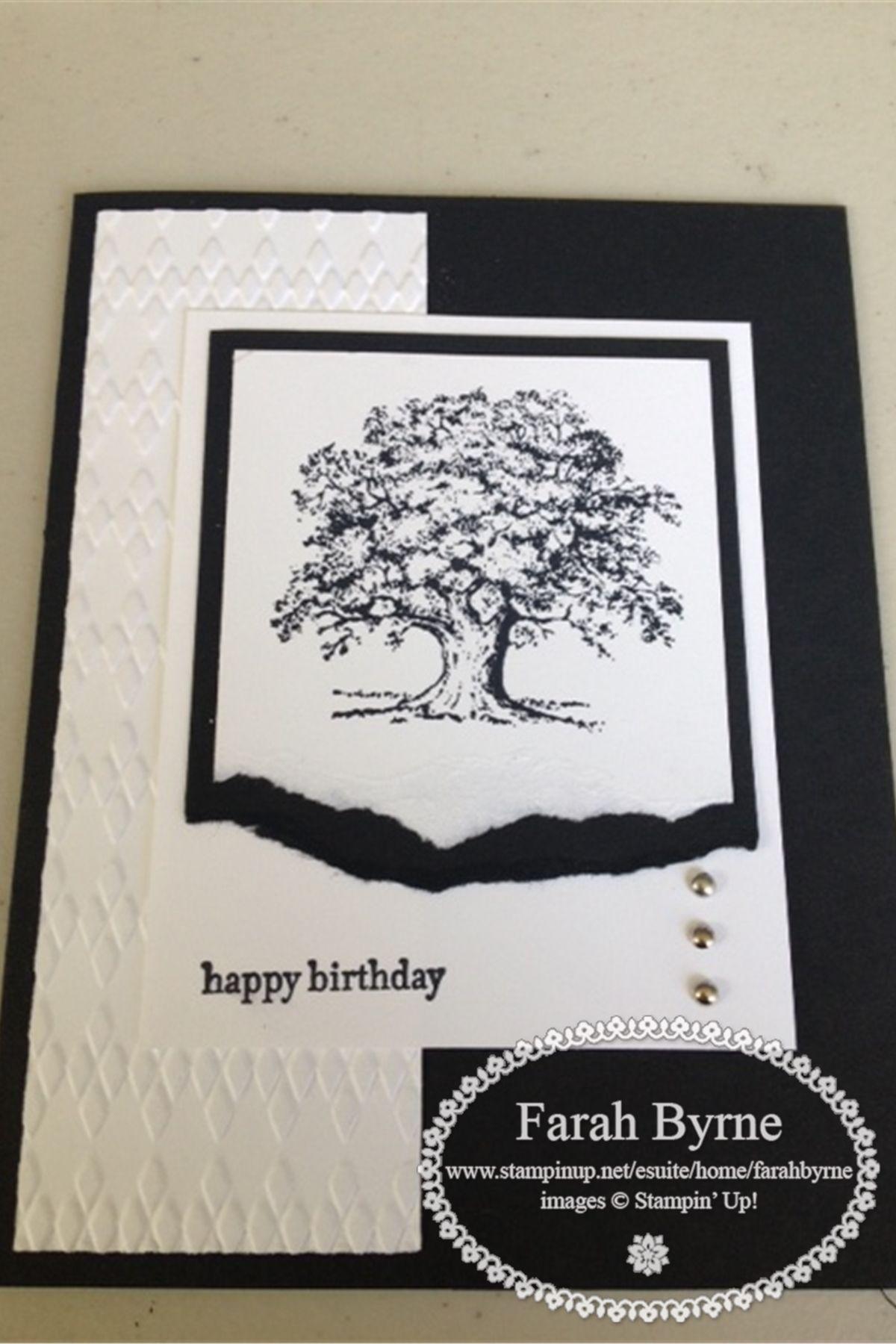 My Black & White Card Class