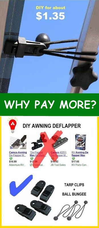 Diy Awning Deflapper 3 3 Our Pins Like Us At Https Www Facebook Com Bound4burlingame To Get Camping Tips Recipe I Diy Awning Rv Awning Ideas Camping