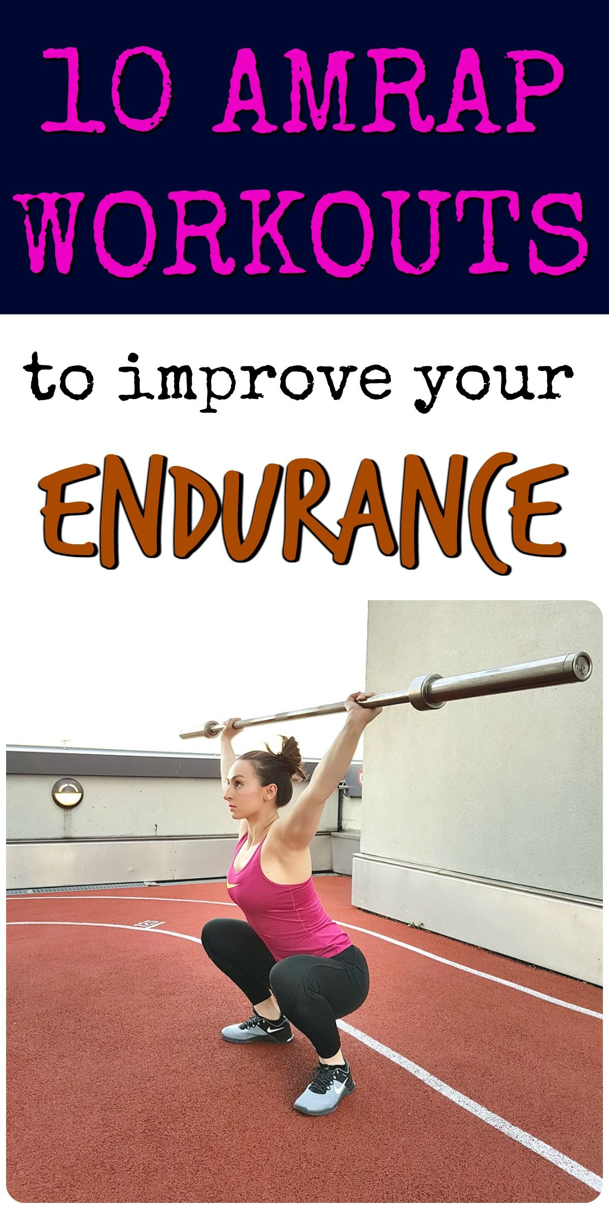 10 AMRAP Workouts To Improve Your Endurance Health and