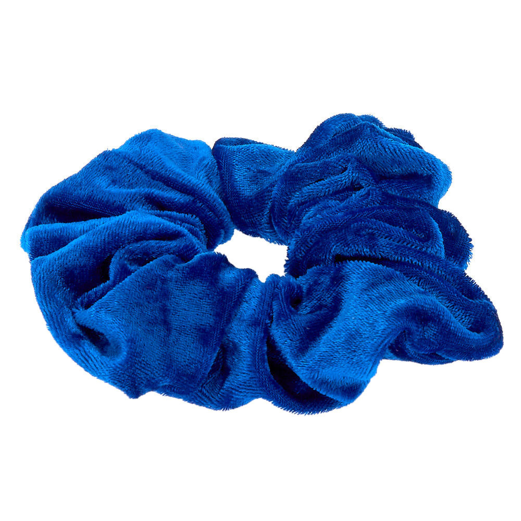 Royal Blue Scrunchies