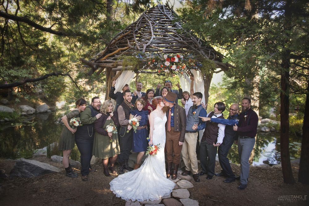 Alicia And Johnathan S Wedding Pine Rose Cabins Wedding Photography Rustic Forest Wedding Southern California Outdoor Wedding Forest Wedding