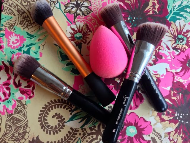 Reviews of foundation brushes and tools. I want the real