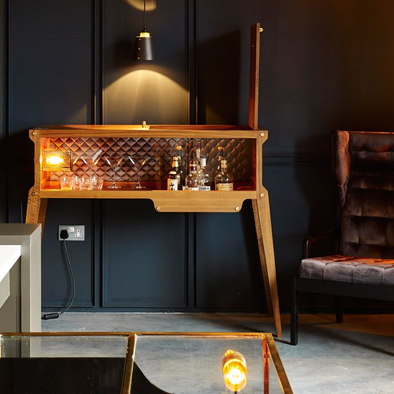 The Rockstar Buster Punch Bar A Whisky Decoration Style Industriel Meuble Bar