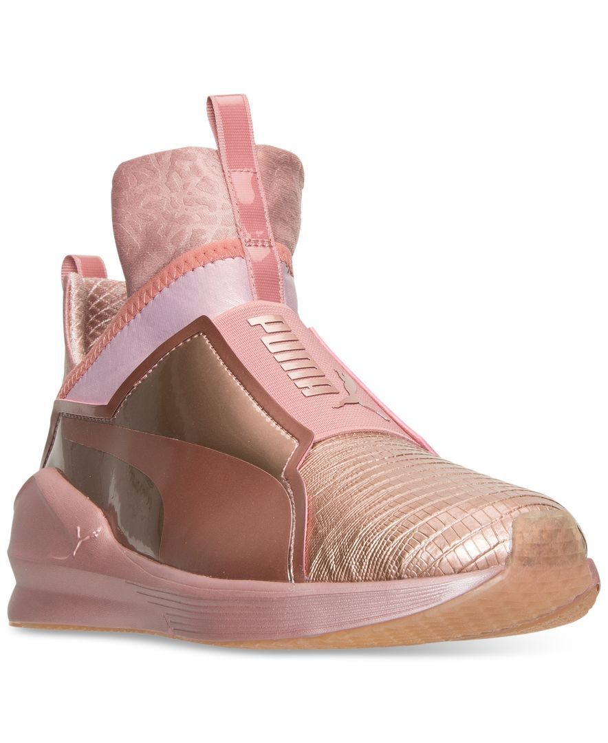 08b4e131ce61 Puma Women s Fierce Metallic Casual Sneakers from Finish Line ...