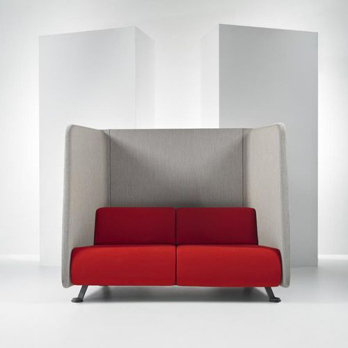 Sofá moderno / de tela / para edificio público / para oficina abierta #004 by Axia Design PROOFF