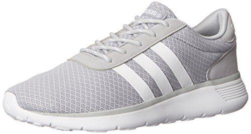 Adidas neo Donna light racer scarpa da corsa, onix / in bianco