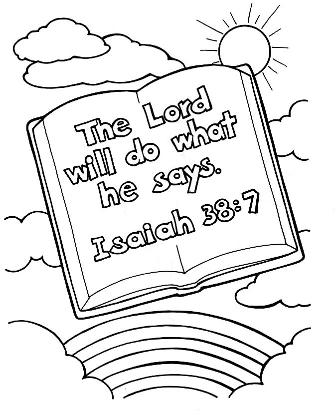 Free Printable Christian Coloring Pages For Kids Bible Verse