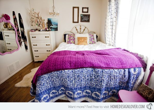 Bohemian Style Bedrooms 15 Fun Bedroom Designs