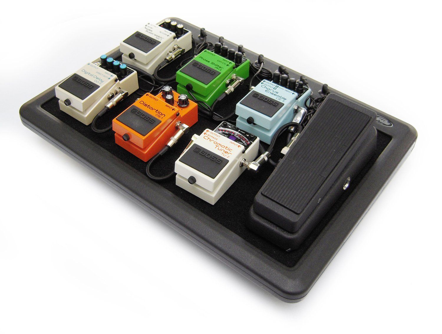 7995 skb ps8 8port 9vdc powered pedal board with gig